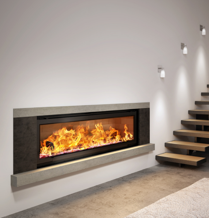Axis H1600XXL Australia's Largest Wood Heater - Sculpt Fireplace Collection Australia & New Zealand