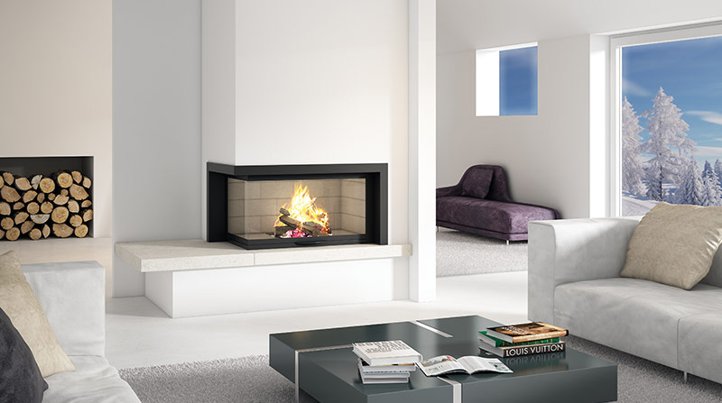 A new focus in fireplaces