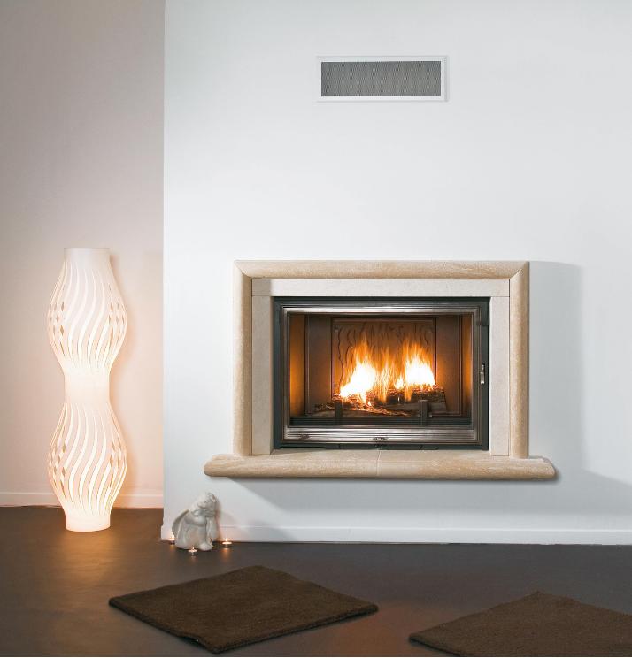 Seguin Europa 7 Cheminee Fireplace Swing & lift door - Sculpt Fireplace Collection Australia & New Zealand