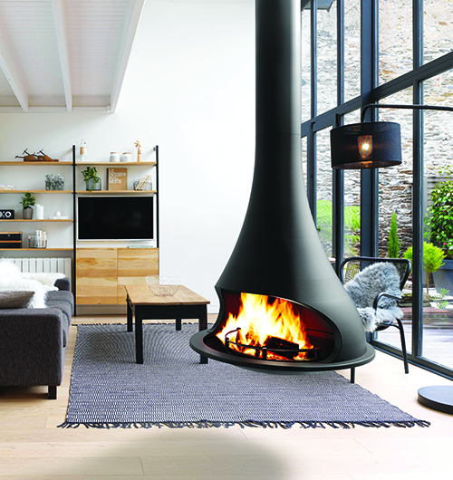 Bordelet Tatiana 997 Suspended Fire Sculpt Fireplace