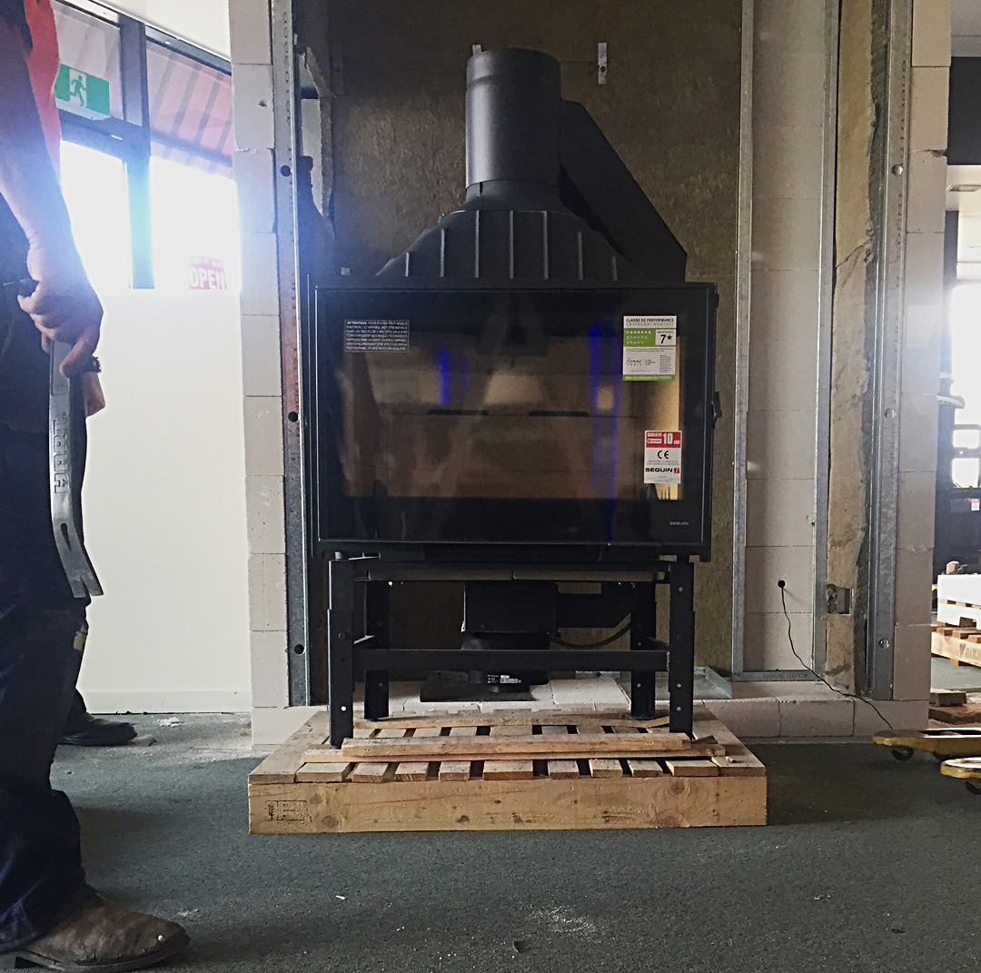 Architectural, French & Inbuilt Wood Heaters