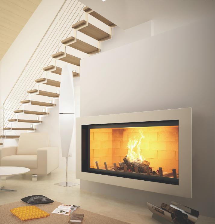 Axis H1400 Contemporary Inbuilt Fireplace - Sculpt Fireplace Collection Australia & New Zealand