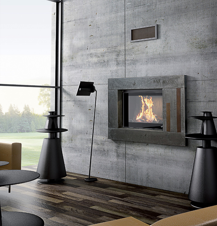 Seguin Multivision Hydro80 Hydronic heating - Sculpt Fireplace Collection Australia & New Zealand