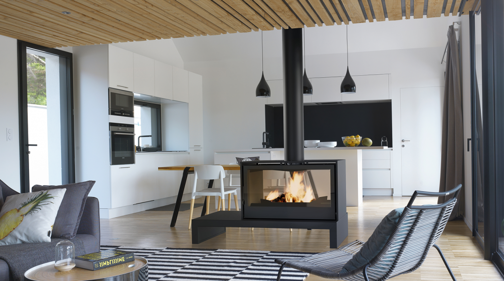 Axis i1000 Double Sided Freestanding - - Woodpecker Heating, Cooling, Fireplaces & BBQ's
