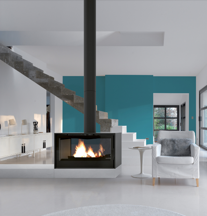 Axis I1000FS Double Sided - Sculpt Fireplace Collection Australia & New Zealand
