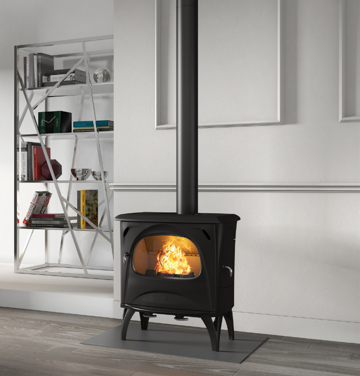 Seguin Aurore Cheminee Fireplace Freestanding Pure Cast Iron Cheminee - Sculpt Fireplace Collection Australia & New Zealand